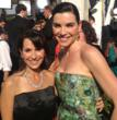 Robin Levinson with Julianna Margulies